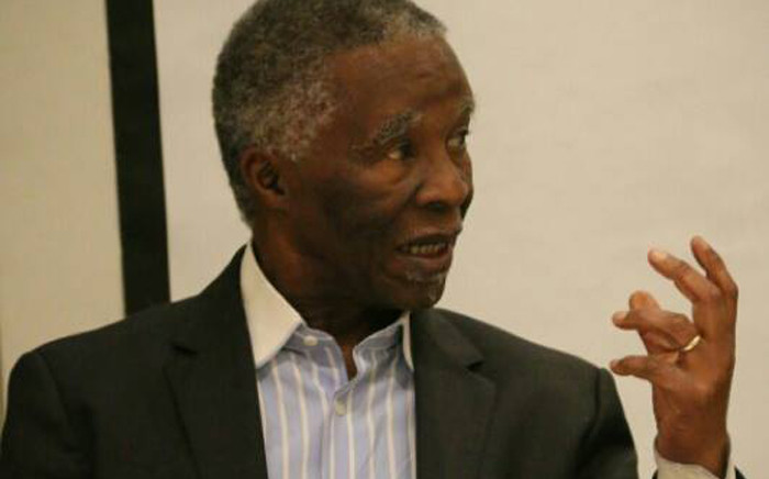 FILE: Former South African President Thabo Mbeki. Picture: Facebook.