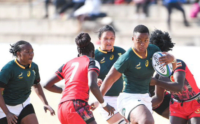 The Springbok Women's team. Picture: @WomenBoks/Twitter.