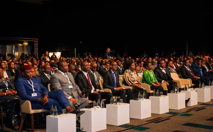 Delegates at the Africa Investment Forum in Sandton, Johannesburg on 11 November 2019. Picture: @kfayemi/Twitter