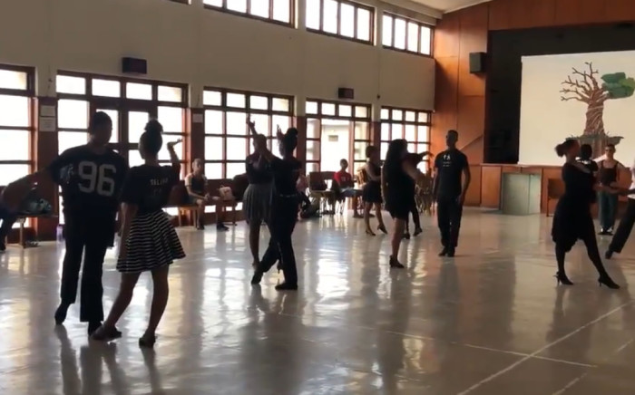 Angelo Harding has been teaching ballroom dancing in Brooklyn for the past five years.