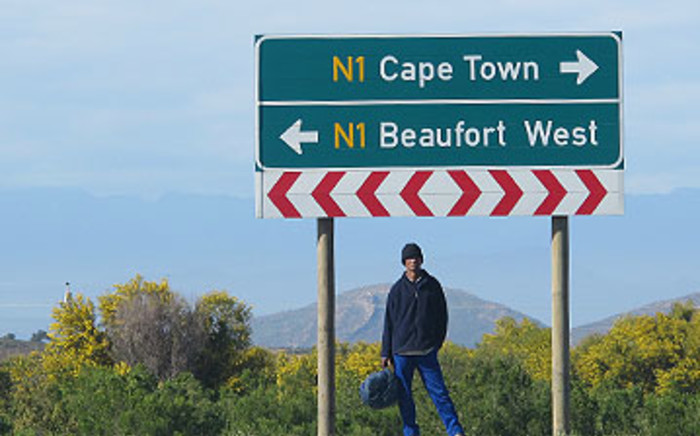 The N1 highway between Cape Town and Beaufort West. Picture: Aletta Gardner/EWN