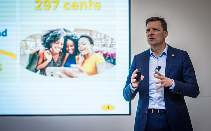 MTN Group CEO Rob Shuter. Picture: @ShuterRob/Twitter.