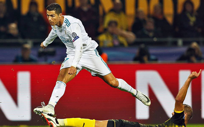 Cristiano Ronaldo scored twice in his 150th European appearance to give Real Madrid a 3-1 victory at Borussia Dortmund. Picture: Facebook.