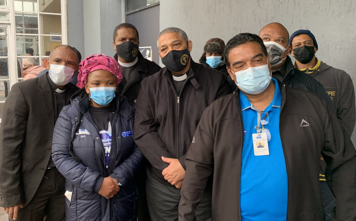 Western Cape Health MEC Nomafrench Mbombo joined religious leaders in Mitchell's Plain on 30 July 2021 to encourage more people to get vaccinated against COVID-19. Picture: Kaylynn Palm/Eyewitness News