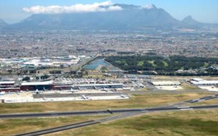 An aerial view of an airport. Picture: Reinard Ludick/Eyewitness News