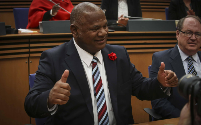 Dan Plato has been voted in as the new mayor of Cape Town. Picture: Cindy Archillies/EWN