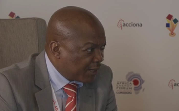 A screengrab of Department of Energy Director General Thabane Zulu. Picture: YouTube.