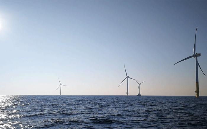 The Arkona wind farm in the Baltic. Picture: @EON_SE_en/Twitter