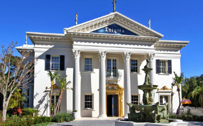 The Enigma mansion which is on the market for R300 million. Picture: Cape Town Alive.