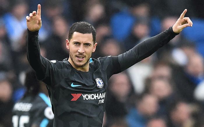 Chelsea's Belgian midfielder Eden Hazard. Picture: AFP