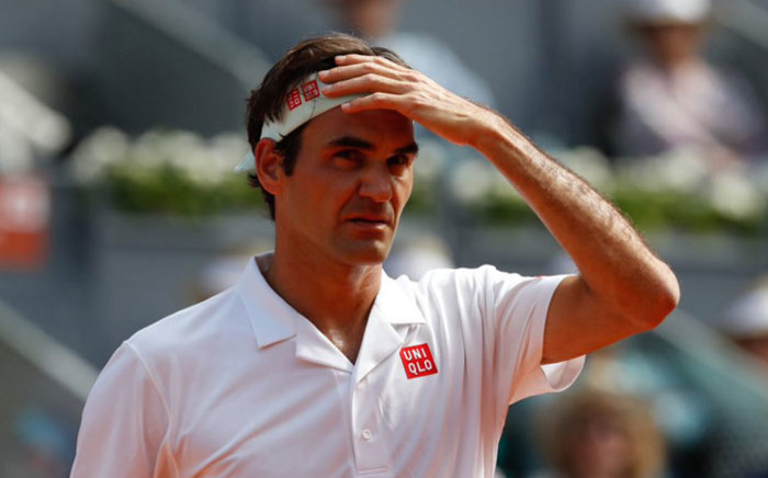 Roger Federer. Picture: @MutuaMadridOpen/Twitter