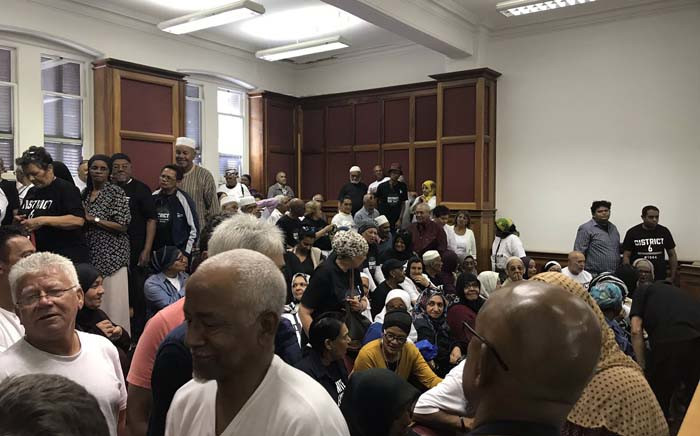 District Six residents at the Western Cape High Court on 26 November 2018 for their land restitution case against the government. Picture: Monique Mortlock /EWN