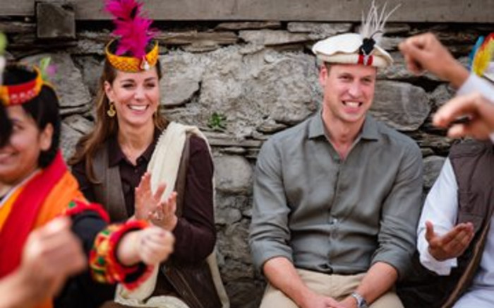 The Duke and Duchess of Cambridge visited a settlement of the Kalash people in Northern Pakistan on 16 October 2019 to learn more about their unique heritage and traditions. Picture: @KensingtonRoyal/Twitter