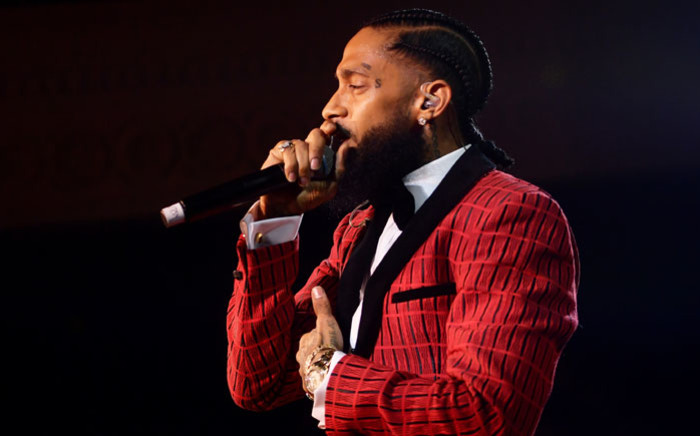 Nipsey Hussle performs onstage at the Warner Music Pre-Grammy Party at the NoMad Hotel on 7 February 2019 in Los Angeles, California. Picture: AFP