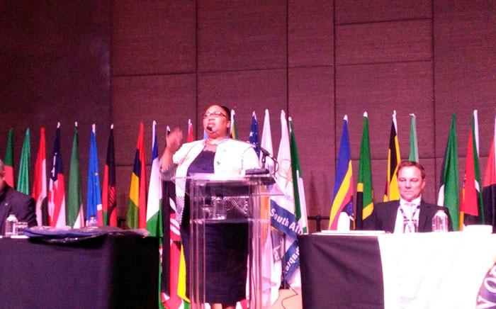 Zanele Mxunyelwa, head of National Treasury's specialised audit service. Picture: Victor Magwedze/EWN.