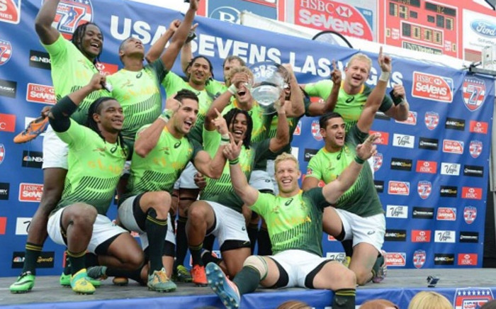The Springbok Sevens team. Picture: Official Springbok Facebook page.