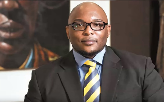 A YouTube screengrab of President Cyril Ramaphosa's son Andile.