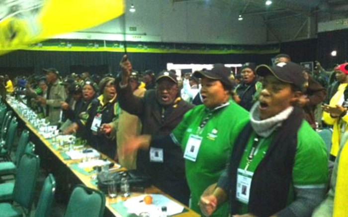 Delegates attending the 2012 ANC National Policy Conference at Gallagher Estate in Midrand. Picture: Taurai Maduna/EWN