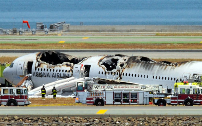 Nigeria's aviation minister has caused outrage by calling air crashes inevitable acts of God. Picture: AFP
