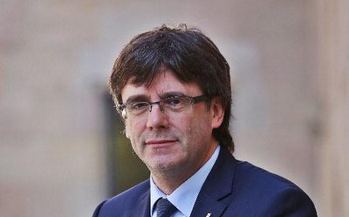 Carles Puigdemont. Picture: Twitter/@KRLS