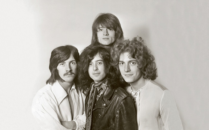 FILE: Members of the Led Zeppelin group. Picture: Led Zeppelin/Twitter.