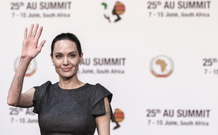 FILE: US actress and UNHCR representative Angelina Jolie. Picture: AFP.
