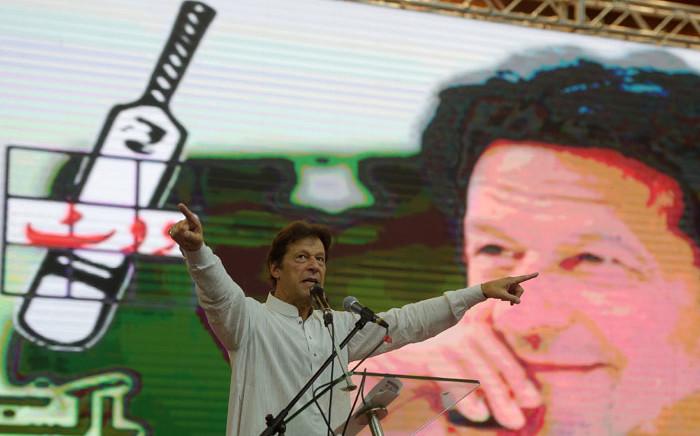 Pakistan politician Imran Khan. Picture: AFP