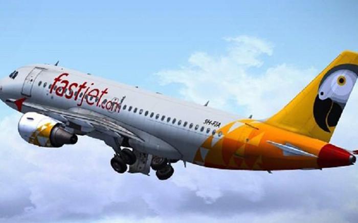 FILE: Picture: @fastjet/Facebook.com.