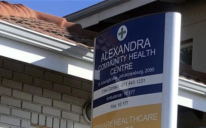 The Alexandra Community Health Centre in Johannesburg. Picture: Masego Rahlaga/EWN