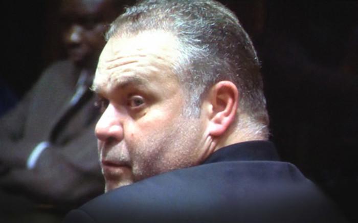 """Radovan Krejcir inside Palm Ridge Magistrates Court. Picture: Christa Van der Walt/EWN."""""""