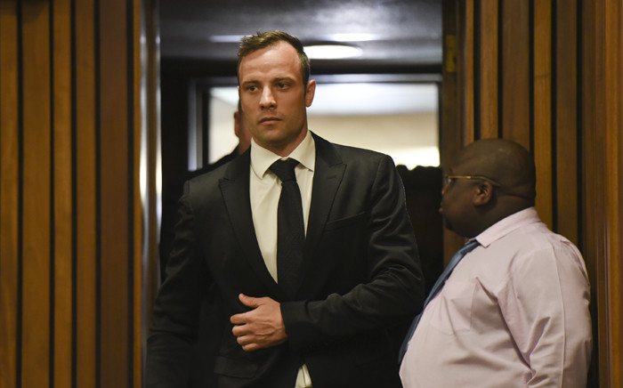 FILE: Oscar Pistorius shot and killed his girlfriend on Valentine's Day three years ago, claiming he thought she was an intruder. Picture: Pool.