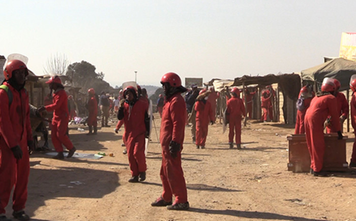 FILE: The police's Augustinah Selepe says six Red Ants were involved in Thursday's attack. Picture: Vumani Mkhize/EWN.
