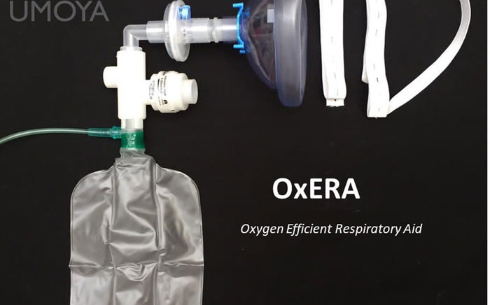 The South African-made OxERA device. Picture: Umoya/Facebook