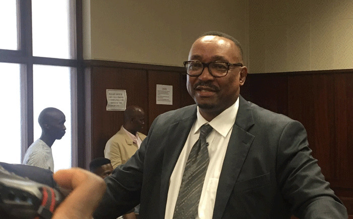 eThekwini city manager Sipho Nzuza in the Durban Commercial Crimes Court on corruption charges on 10 March 2020. Picture: Nkosikhona Duma/EWN.