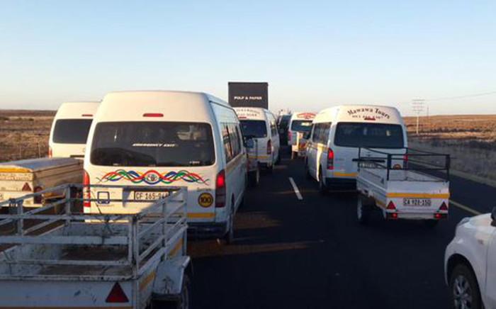 "Traffic. Picture: Twitter @EWNTraffic."""