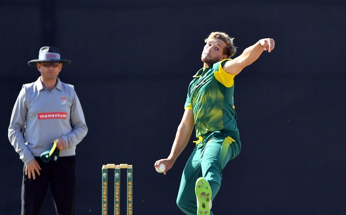 Allrounder Wiaan Mulder has been included in the Proteas ODI squad for the 5th ODI against Pakistan. Picture: Twitter/@OfficialCSA