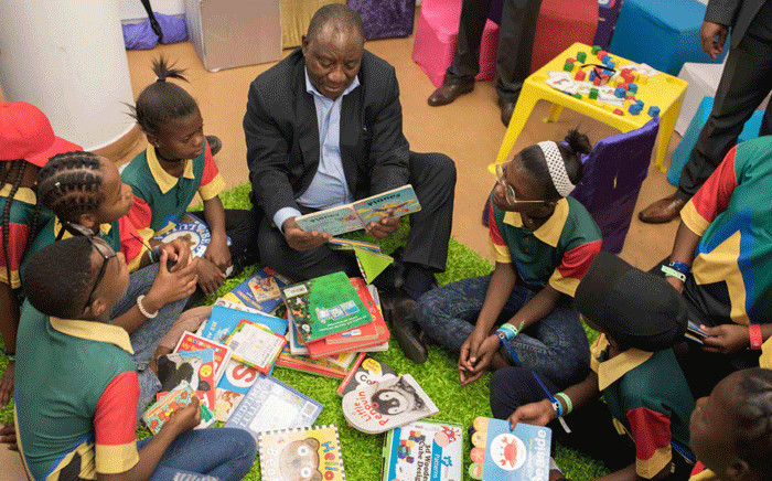 This undated file photo shows Deputy President Cyril Ramaphosa at the South African Book Fair held at the Africa Museum, Newtown, Johannesburg. Picture: GCIS