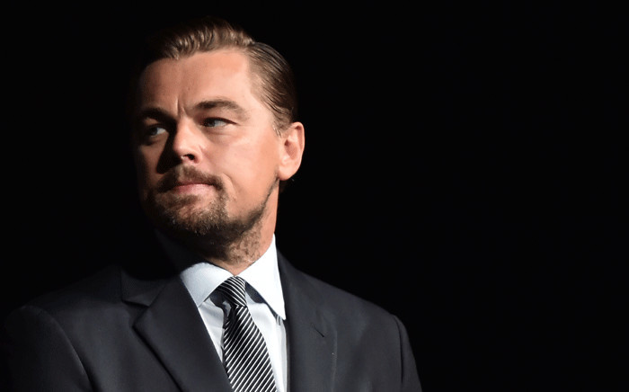 FILE: US actor Leonardo DiCaprio looks on prior to speaking on stage during the Paris premiere of the documentary film 'Before the Flood' on 17 October 2016. Picture: AFP.