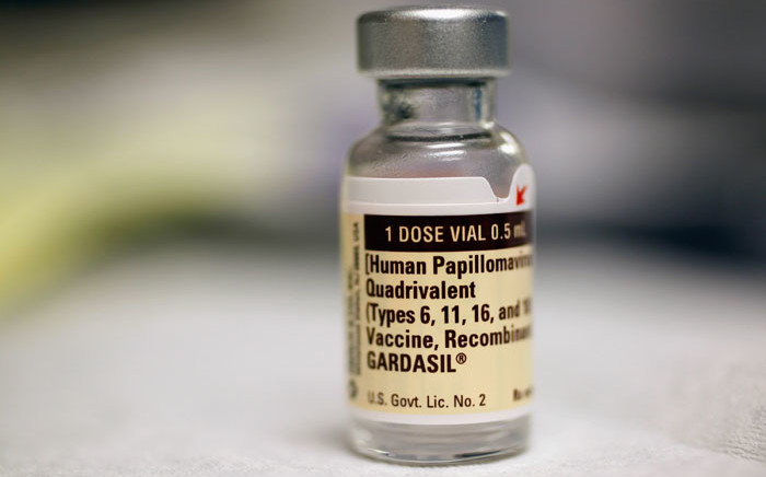 FILE: A bottle of the Human Papillomavirus vaccine. Picture: AFP