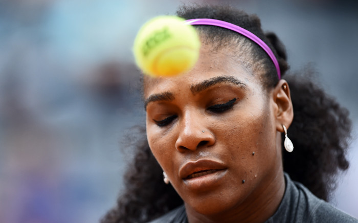 FILE: US Serena Williams. Picture: AFP