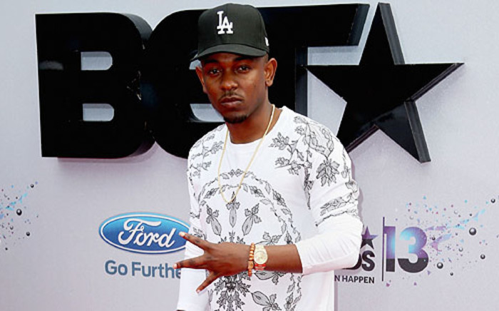Rapper Kendrick Lamar attends the 2013 BET Awards at Nokia Theatre L.A. Live on 30 June 2013 in Los Angeles. Picture: AFP