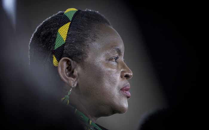 FILE: Social Development Minister Bathabile Dlamini. Picture: Thomas Holder/EWN.