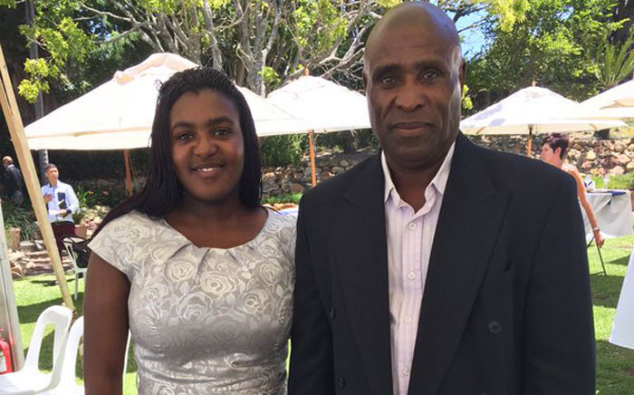 One of Western Cape's top matriculants Namhla Javu is the top science student but doesn't have funding to study chemical engineering at UCT. Picture: Natalie Malgas/EWN.