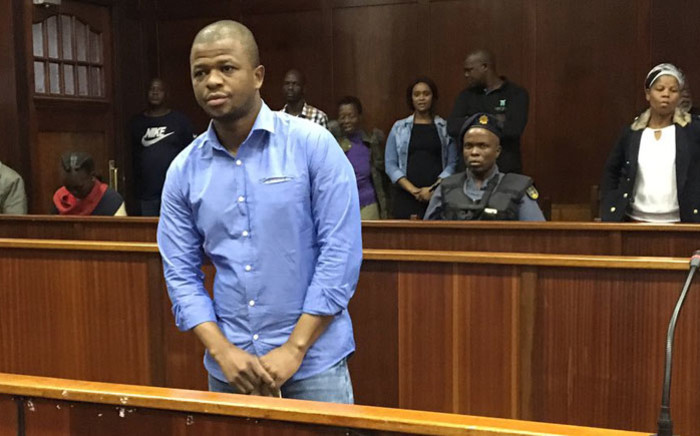Convicted murderer Thembinkosi Ngcobo appears in the Durban High Court for sentencing on 28 February 2020. Picture: Nkosikhona Duma/EWN