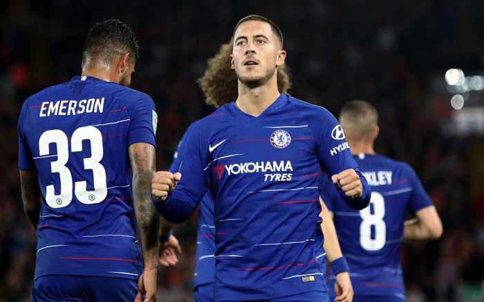 Chelsea forward Eden Hazard. Picture: @ChelseaFC/Twitter.