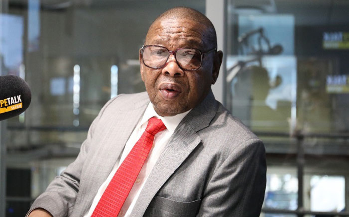 FILE: Minister of Higher Education, Science and Technology Blade Nzimande. Picture: CapeTalk