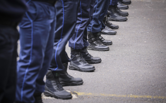 FILE: Law enforcement officials at the City of Cape Town Metro Police Training Academy. Picture: Cindy Archillies/EWN