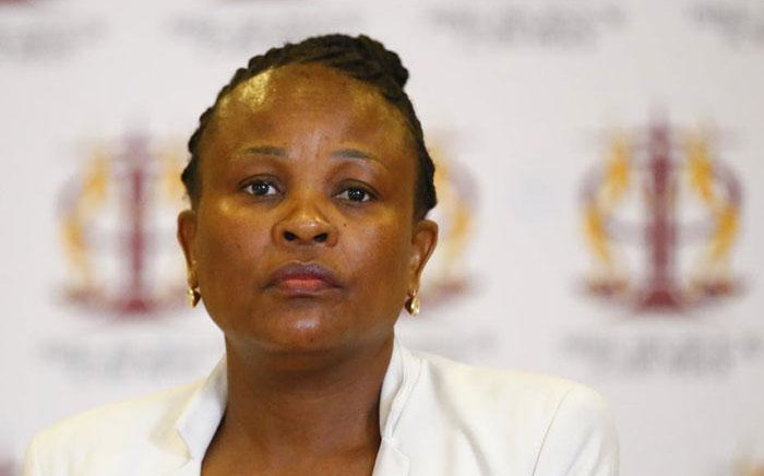 FILE: Public Protector Busisiwe Mkhwebane. Picture: @PublicProtector/Twitter.