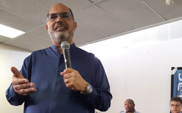 FILE: South African Revenue Service Commissioner Edward Kieswetter. Picture: @sarstax/Twitter