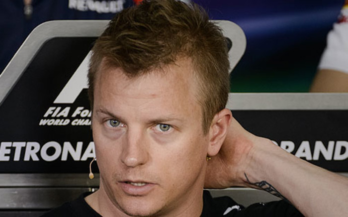 Lotus driver Kimi Raikkonen. Picture: AFP